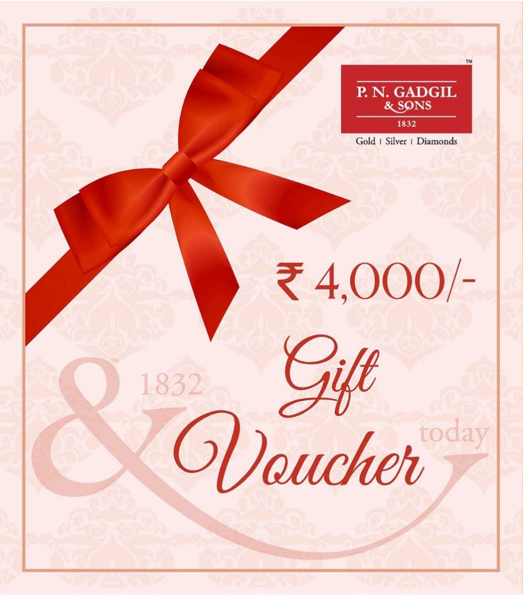 Gift Voucher ₹4000