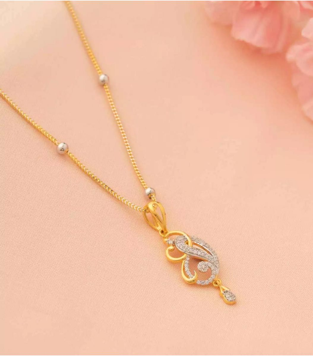 Gold Chain Pendant-CP600488