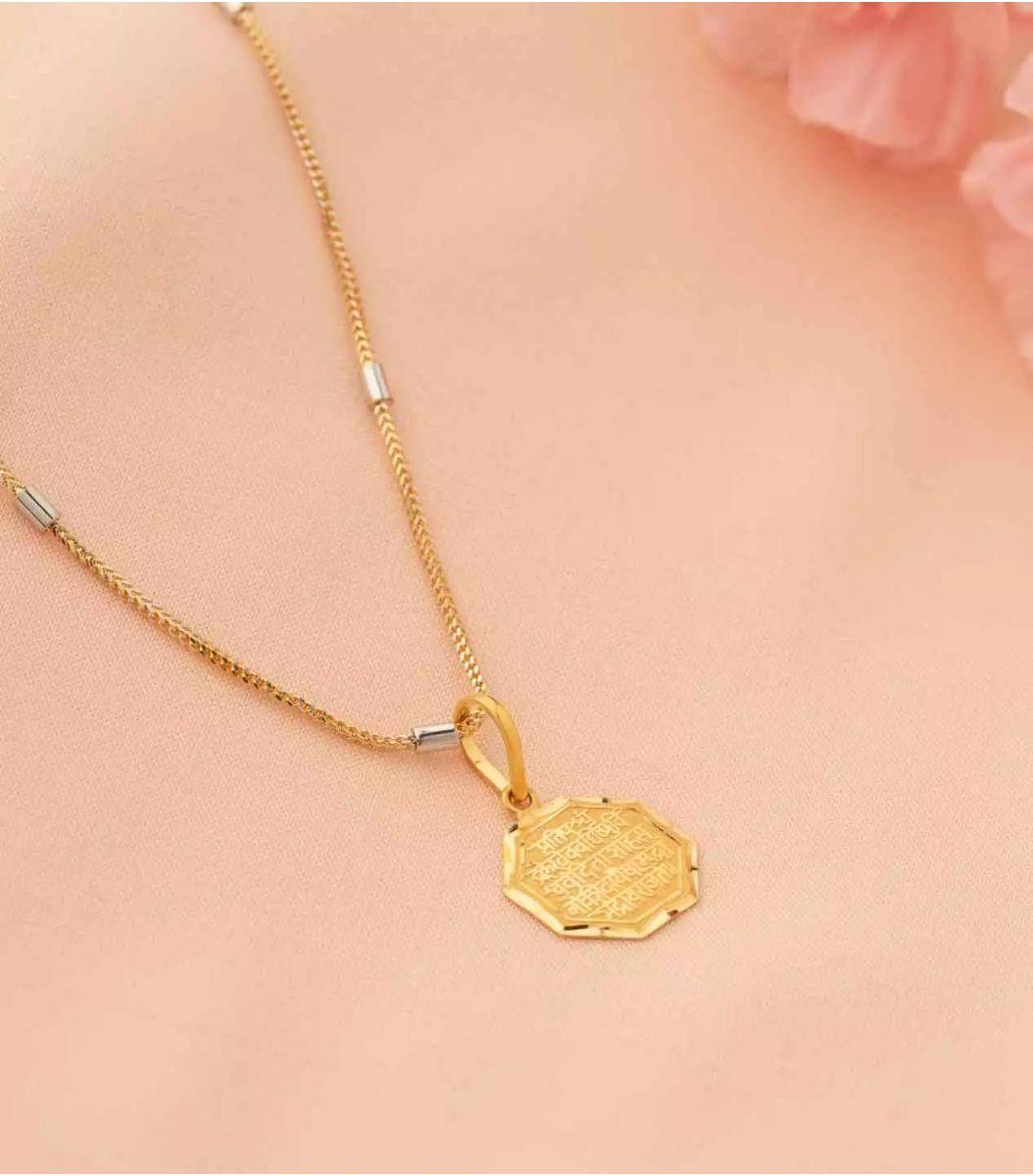 Gold Chain Pendant-CP605577
