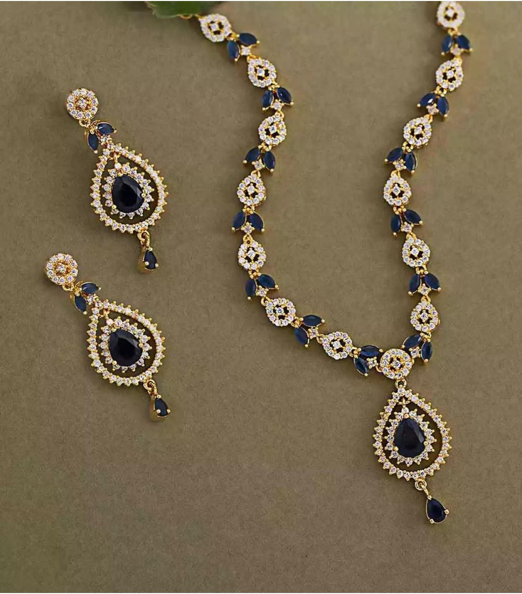 Silver Gold Polish Necklace FJ1660641