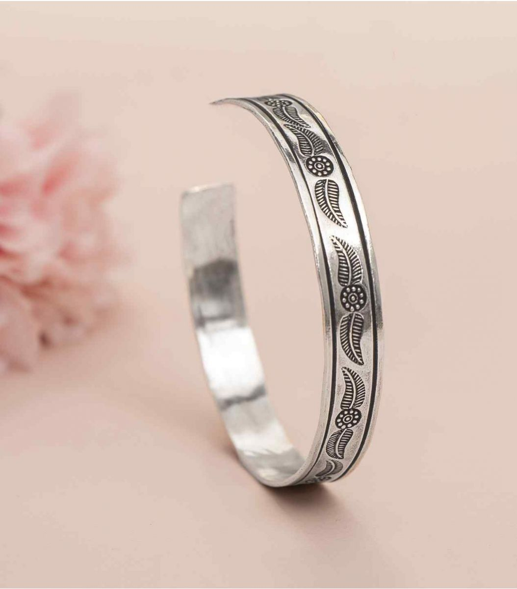 Silver Fancy Antique Bracelet