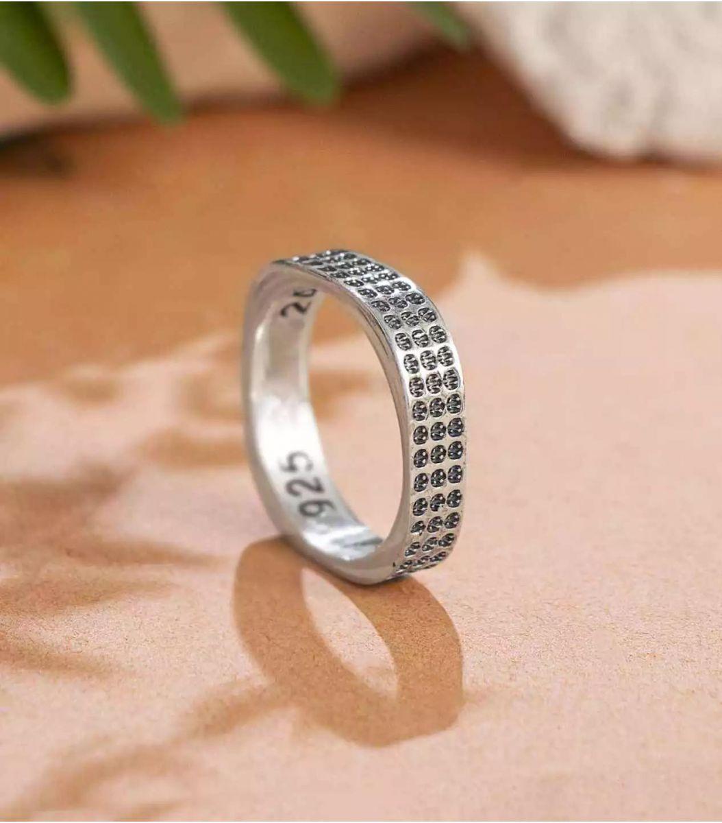Silver Thumb Ring FJ1667819
