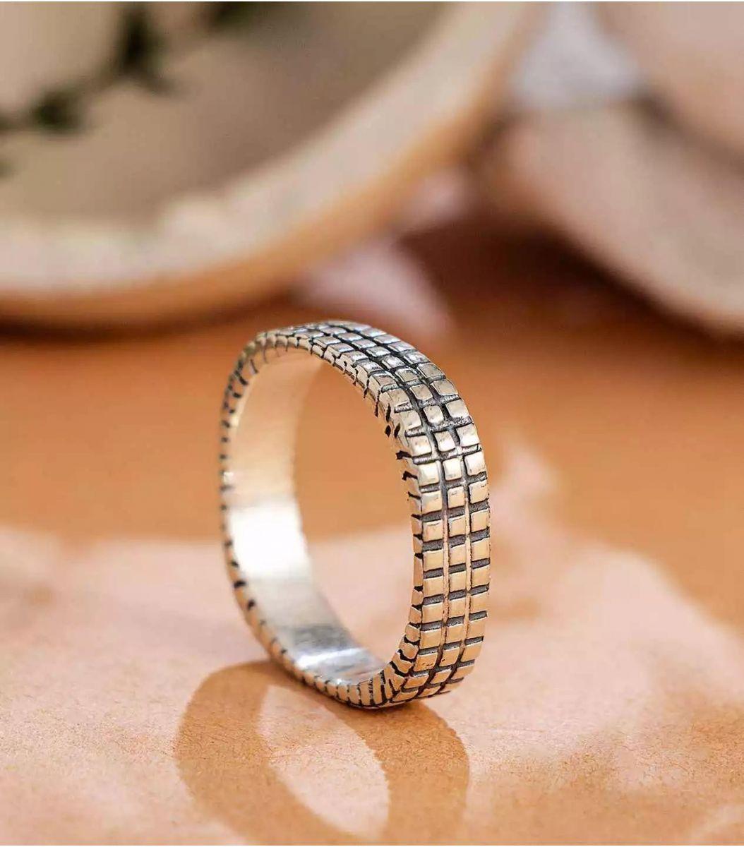 Silver Thumb Ring FJ1667856
