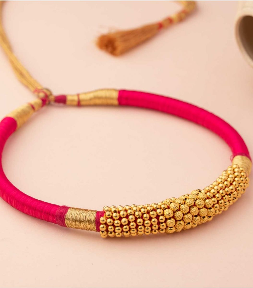 Gold Goph Necklace