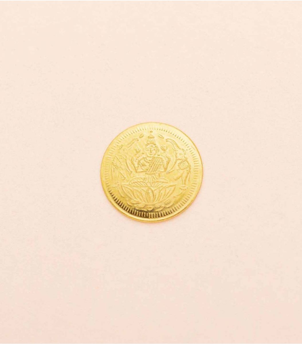 Gold Laxmi Coin-0.5GM