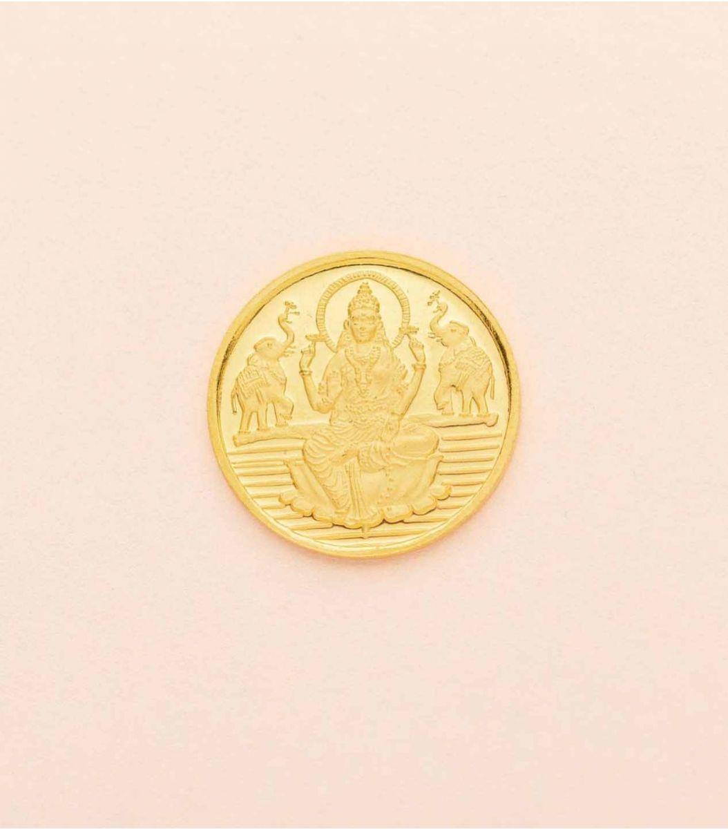 Gold Laxmi Coin-2GM