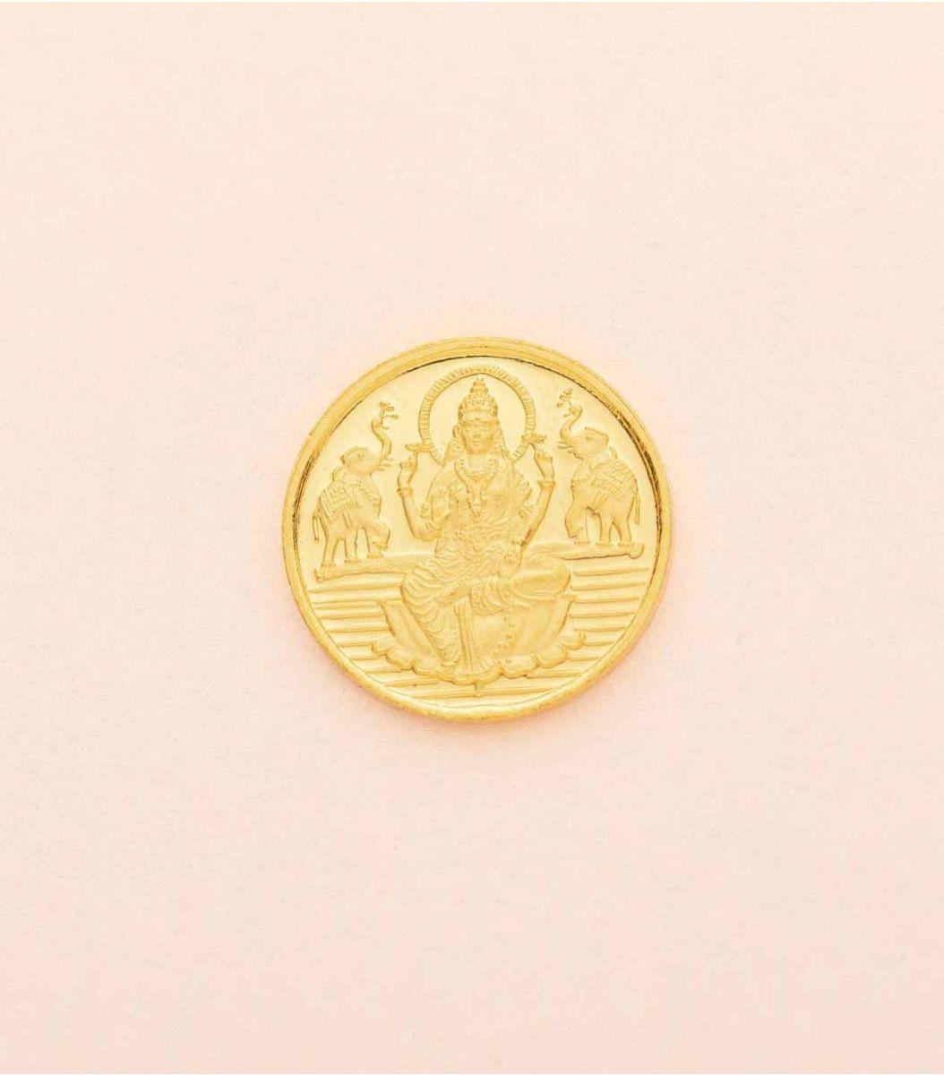Gold Laxmi Coin-5GM