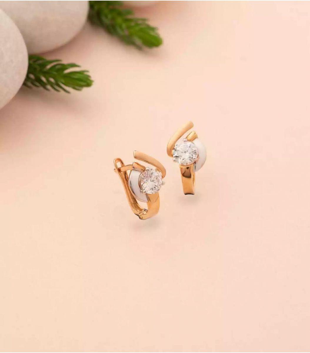 Gold EarRings-RIN602013