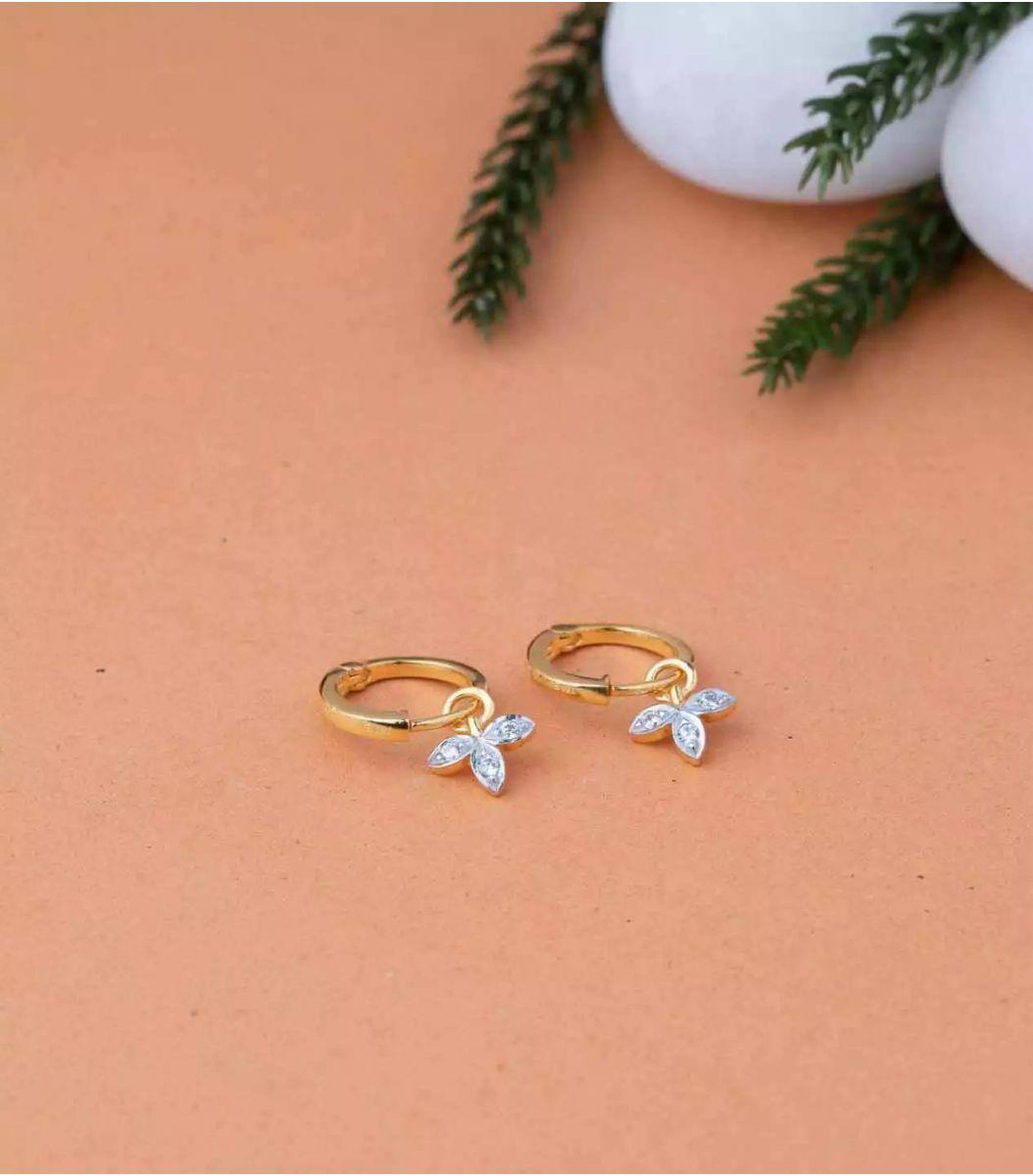 Gold EarRings-RIN639588