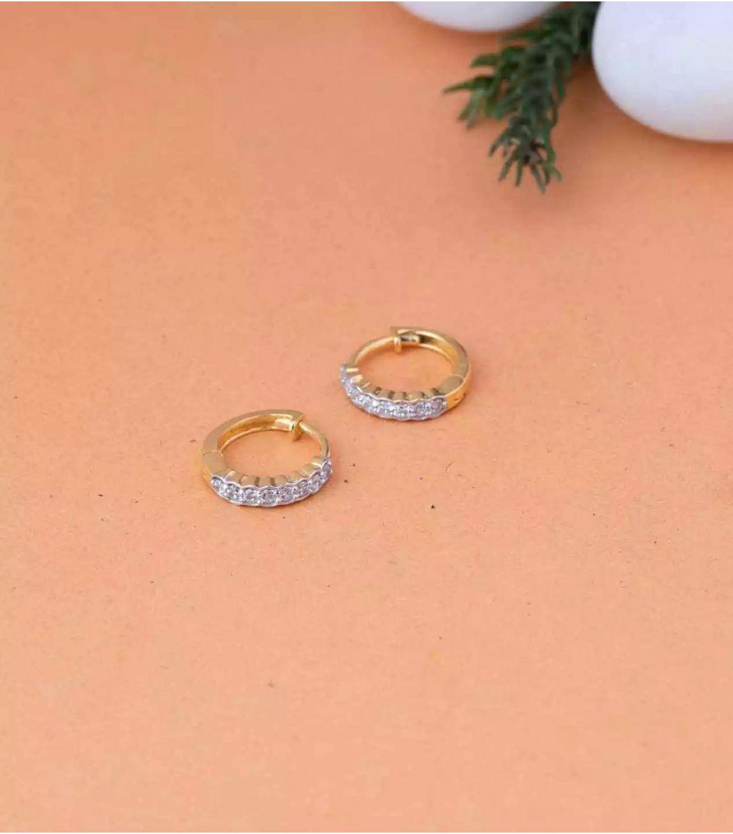 Gold EarRings-RIN639611