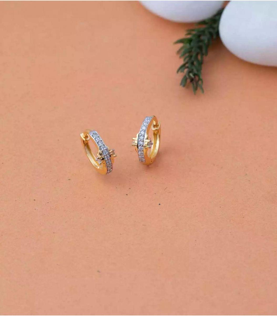 Gold EarRings-RIN639644