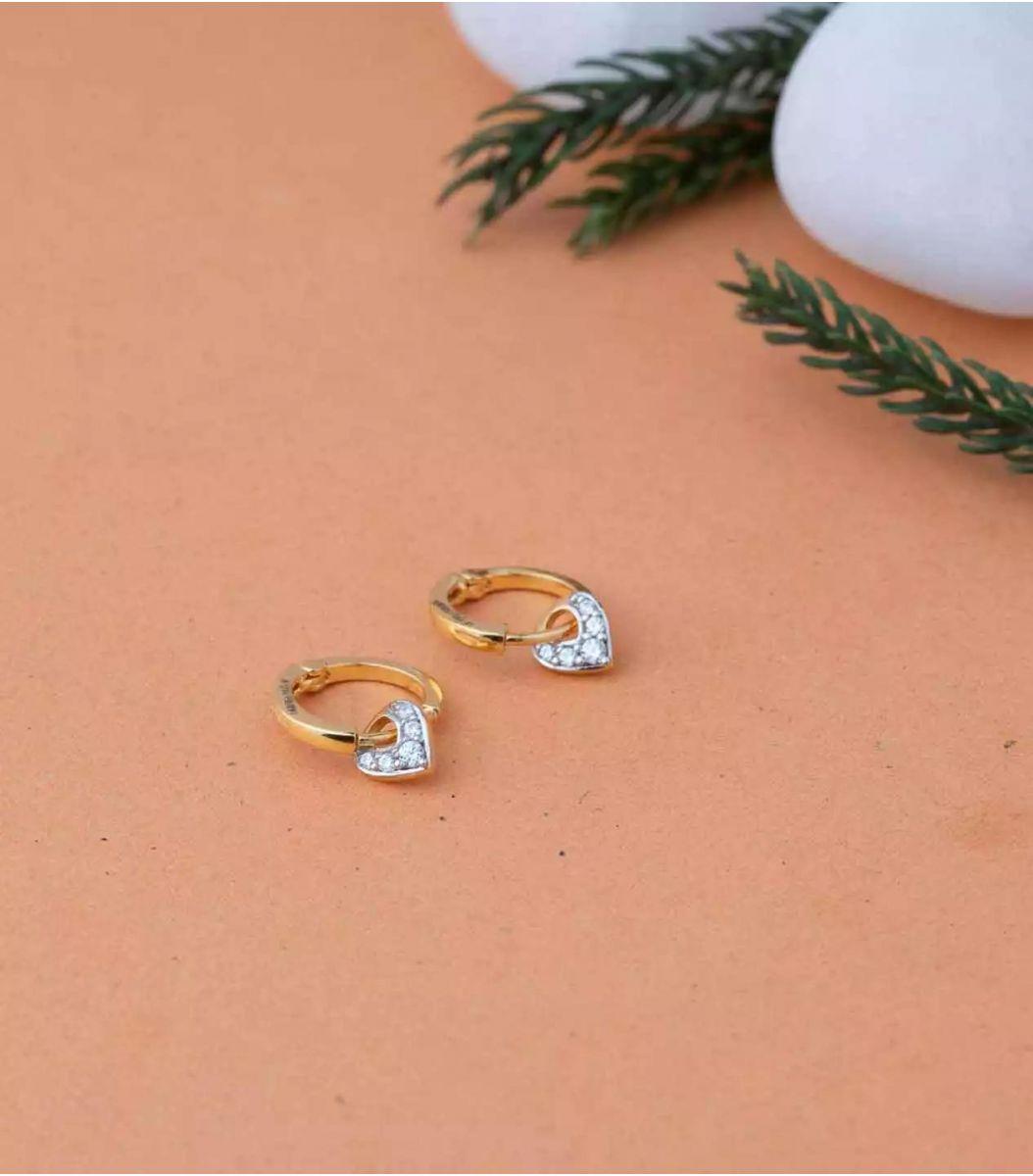 Gold EarRings-RIN639660